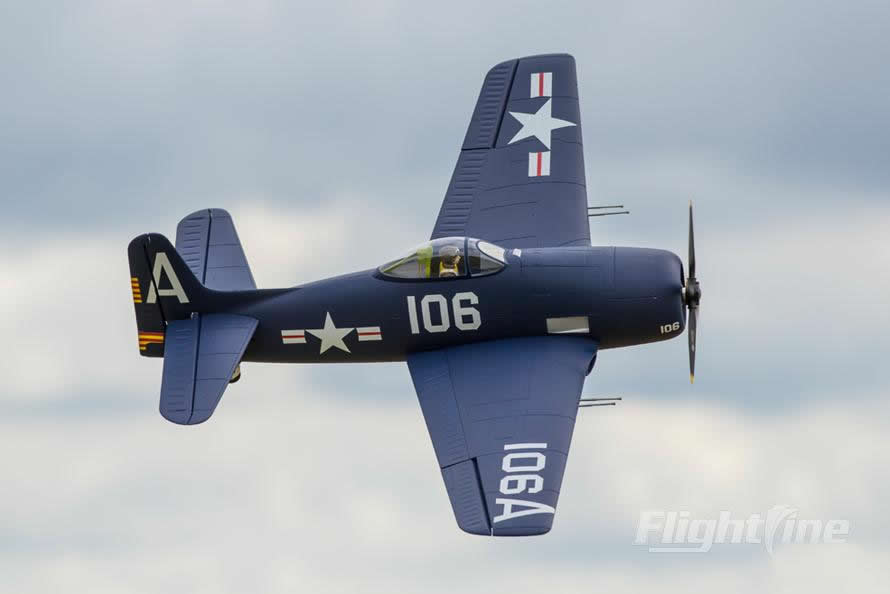 FlightLine RC F8F-1 Bearcat RC Airplane