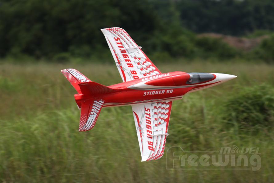 Freewing Stinger 90 Extreme Performance 90mm EDF Jet - PNP