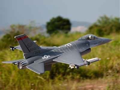 Freewing F-16 V2 4S-Standard 70mm EDF Jet - PNP RC Airplane