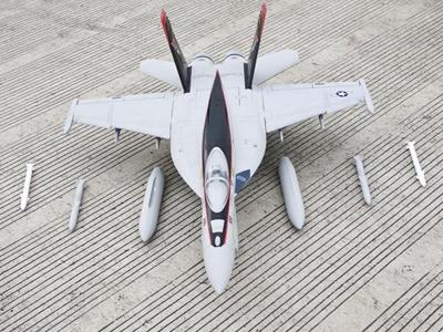 Freewing F/A-18E Hornet V2 90mm EDF Thrust Vectoring Jet - Kit RC